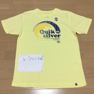 クイックシルバー(QUIKSILVER)の美品 QUICK SILVER クイックシルバー Tシャツ 半袖(Tシャツ/カットソー(半袖/袖なし))