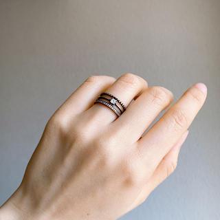 リング[NO.3] ビンテージ風/ブラウンゴールド(リング(指輪))