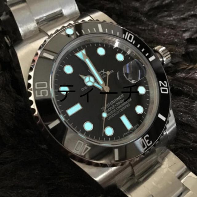 シチズン 腕時計 スーパーコピー エルメス - ROLEX - 【最新】サブマリーナ V9  自動巻の通販 by Doffis shop