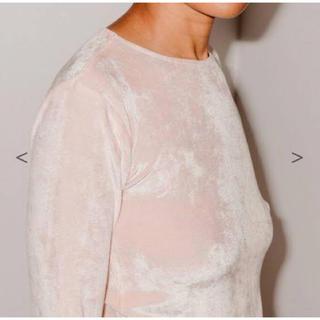ロンハーマン(Ron Herman)のbaserange omo long sleeve シーズンカラー ピンク S(Tシャツ/カットソー(七分/長袖))