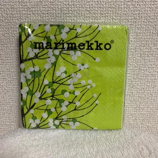 マリメッコ(marimekko)の【マリメッコ】新品 ペーパーナプキン 24×24センチ(テーブル用品)