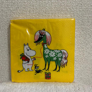 【MOOMIN】売約済 ペーパーナプキン 25×25センチ(テーブル用品)