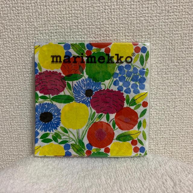 marimekko(マリメッコ)の【マリメッコ】新品 ペーパーナプキン 24×24センチ インテリア/住まい/日用品のキッチン/食器(テーブル用品)の商品写真