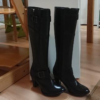 新品未使用!ロングブーツ☆サイズ22.5(ブーツ)