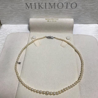 MIKIMOTO - ミキモト  ネックレス Mチャーム付きです
