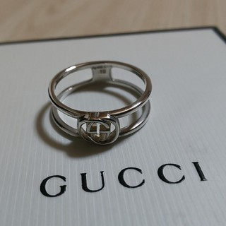 Gucci - GUCCI インター ロッキング リング 19号表記