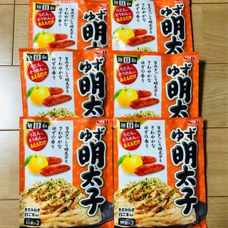 S&B エスビー食品 ゆず明太子ソース 6袋(レトルト食品)