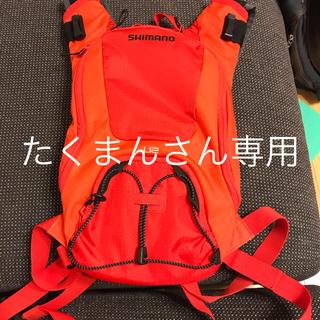 シマノ(SHIMANO)のシマノ(SHIMANO) U-2 サイクリングバック(開封済、ほぼ未使用)(バッグ)