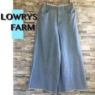 LOWRYS FARM - LOWRYSFARM(ローリーズファーム)ワイドデニムパンツ