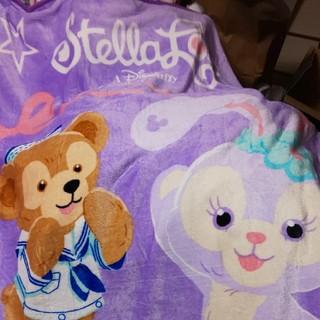 ダッフィー(ダッフィー)の新品ステラルーとダッフィー日本未入荷毛布(毛布)