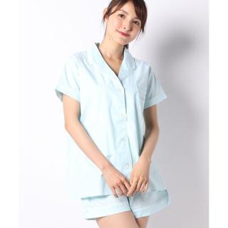 アンフィ(AMPHI)のAMPHI♡シンプルコットン前開きパジャマset up(ルームウェア)