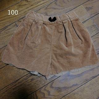 エフオーキッズ(F.O.KIDS)の100 スカラップコーデュロイショートパンツ(パンツ/スパッツ)