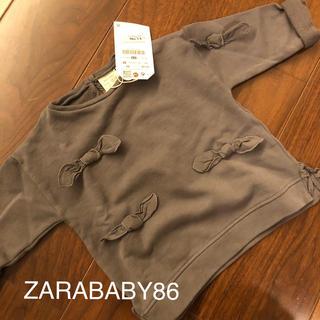 ザラキッズ(ZARA KIDS)のZARA86新品トレーナー(トレーナー)