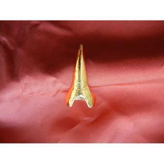 ♪♪ パンクスタイルのクール指リング ゴールド(リング(指輪))