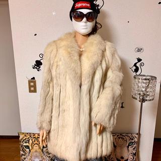 大人気・ブルーフォックス毛皮 SAGA FOX 2,(毛皮/ファーコート)