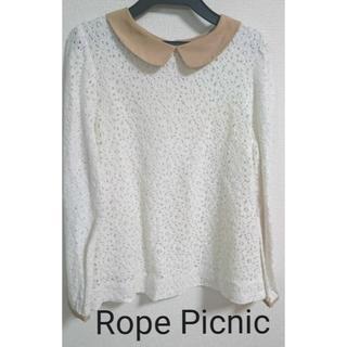 Rope' Picnic - ロペ ピクニック 総レースブラウス