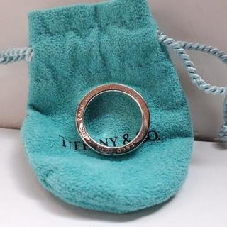 ティファニー(Tiffany & Co.)の正規品 ティファニー 1837 サークルリング  ナローリング 10号(リング(指輪))