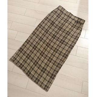ジーユー(GU)の【値下げしました】【ほぼ未使用】タイトスカート XL(ロングスカート)
