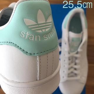 アディダス(adidas)の【レア】 希少カラー 25.5㎝ アディダス スタンスミス ホワイト グリーン(スニーカー)