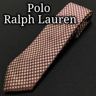 ポロラルフローレン(POLO RALPH LAUREN)のポロラルフローレン フラワー ワインレッド ネクタイ A102-C12(ネクタイ)