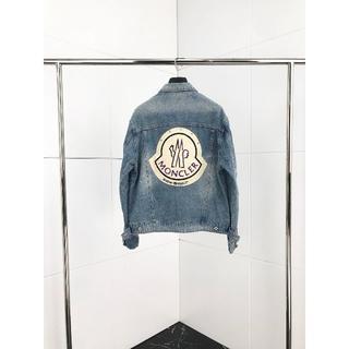 モンクレール(MONCLER)の人気デザインの新作デニムジャケット(Gジャン/デニムジャケット)