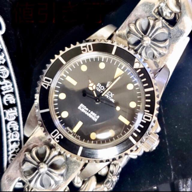 ROLEX - Ref.5513サブマリーナ&シルバー925ブレス 検クロムハーツの通販 by Valjoux shop