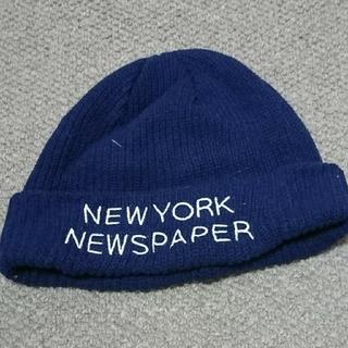 レイジブルー(RAGEBLUE)のレイジブルー 刺繍ニット帽(ニット帽/ビーニー)