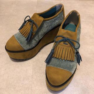 メリージェニー(merry jenny)のメリージェニー merry jenny 厚底 シューズ (ローファー/革靴)