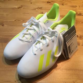 アディダス(adidas)のアディダス サッカースパイクX18.4  24.5cm(*´∀`)♪(シューズ)