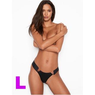 ヴィクトリアズシークレット(Victoria's Secret)のヴィクトリアズシークレット ブラジリアン パンティー ブラック L(ショーツ)
