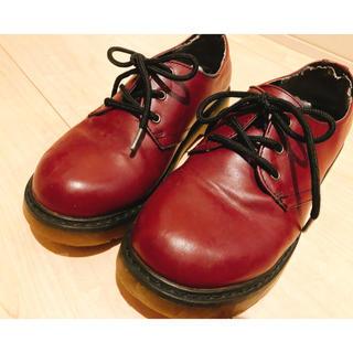 ジーティーホーキンス(G.T. HAWKINS)のジーティーホーキンス 赤ショートブーツ(ブーツ)