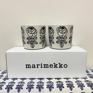 marimekko - marimekko マリメッコ Vihikiruusu ラテマグ 新色ブラック