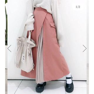 ウィゴー(WEGO)のラップミリタリープリーツスカート(ロングスカート)