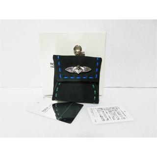トーガ(TOGA)のTOGA VIRILIS Metal square coin case グリーン(コインケース/小銭入れ)