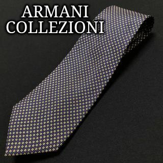 アルマーニ コレツィオーニ(ARMANI COLLEZIONI)のアルマーニ ドット ネイビー ネクタイ A102-C27(ネクタイ)