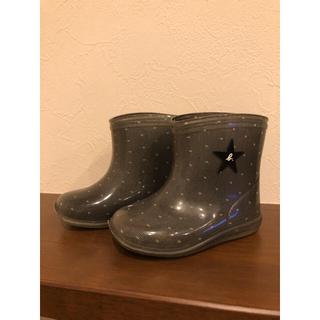 アニエスベー(agnes b.)のアニエスb レインブーツ 13㎝(長靴/レインシューズ)