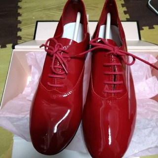 レペット(repetto)の最終値下げ レペット サイズ36.5 赤 新品未使用(ローファー/革靴)