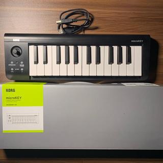 コルグ(KORG)の【ほぼ未使用】KORG MIDIキーボード 25鍵(MIDIコントローラー)