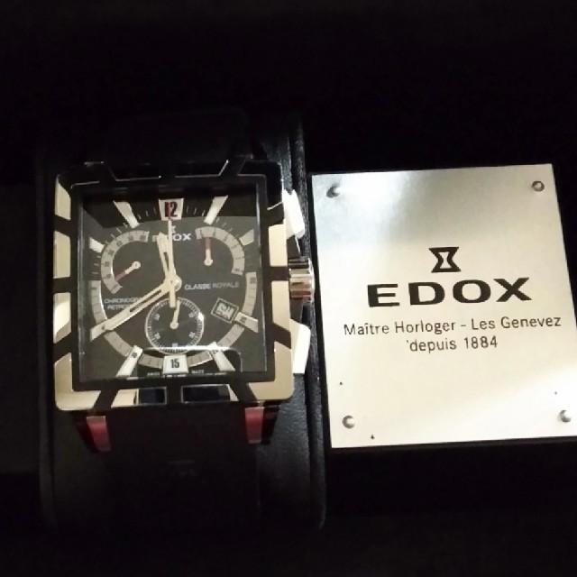 ラクマ コピー 时计 - EDOX - エドックス クラスロイヤルの通販