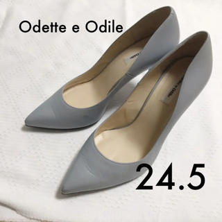 オデットエオディール(Odette e Odile)のオデットパンプス24.5(ハイヒール/パンプス)