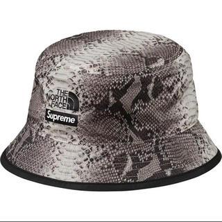 Supreme - Supreme north face Snake Reversible Hat黒
