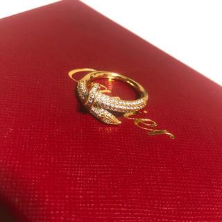 カルティエ(Cartier)の本家仕様✨大人気✨ゴールド釘リング❤️(リング(指輪))