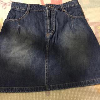 ページボーイ(PAGEBOY)のジーンズ スカート(ひざ丈スカート)