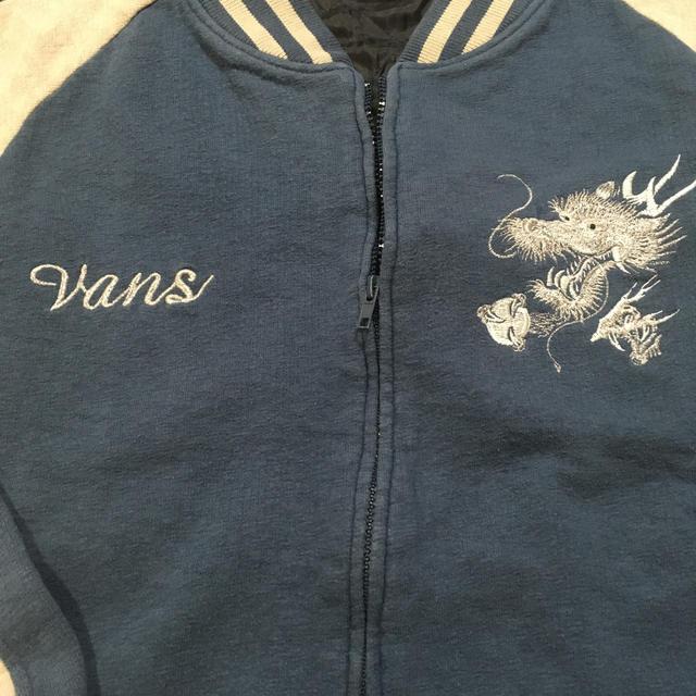 VANS(ヴァンズ)のVANS  スウェット  スカジャン* メンズのジャケット/アウター(スカジャン)の商品写真