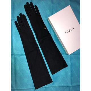 フルラ(Furla)のフルラ FURLA 新品 ロング手袋 ブラック(手袋)