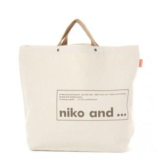 ニコアンド(niko and...)のNiko and… 2wayトート 新作デザイン(トートバッグ)