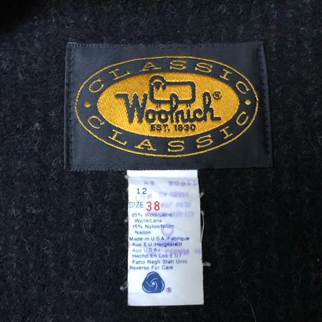 WOOLRICH(ウールリッチ)の90's ウールリッチ ウールベスト USA製 38 Woolrich メンズのトップス(ベスト)の商品写真