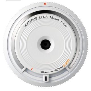 オリンパス(OLYMPUS)のOLYMPUS レンズ bcl-1580 ボディキャップレンズ(レンズ(単焦点))