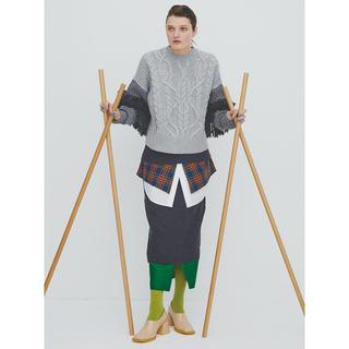 エンフォルド(ENFOLD)のENFOLD マルチカラースカート(ロングスカート)