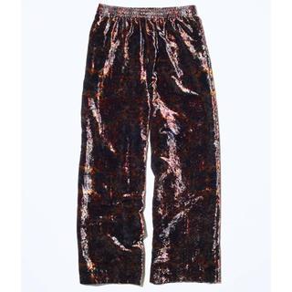 トーガ(TOGA)のTOGA VIRILIS 19AW Velvet print Pants(スラックス)